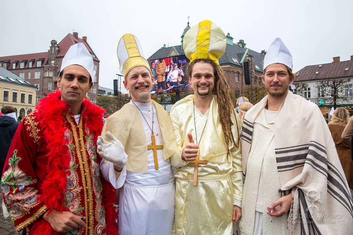 The Pope visits Sweden